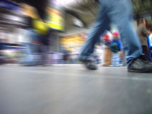Rush-hour. In the mainstation Stock Photography