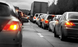 Rush hour Stock Photography
