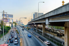 Rush Hour in Bangkok Centre Royalty Free Stock Photos
