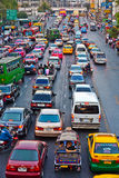 Rush Hour in Bangkok, Thailand Royalty Free Stock Photography