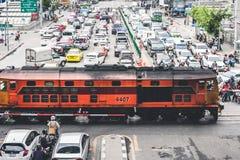 Rush Hour In Bangkok Royalty Free Stock Photos