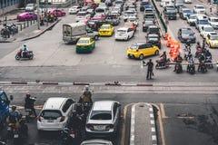 Rush Hour In Bangkok Stock Photos