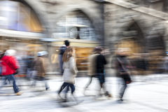 Rush hour in the city Royalty Free Stock Images