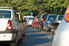 Rush Hour Congestion Royalty Free Stock Photography