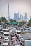 Rush hour in Dubai Stock Photos