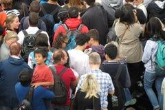 Rush hour Stock Image