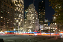 Rush hour in fifth avenue Stock Image