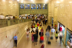 Rush hour at Grand Central, New York Stock Photo