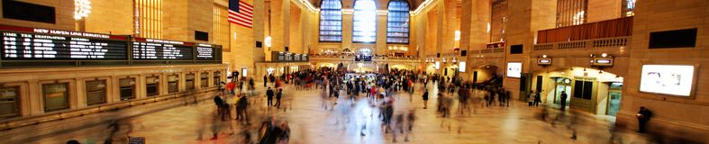 Rush Hour in Grand Central Station main hall Stock Photos