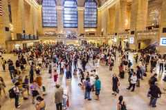 Rush hour in grand central station Stock Photos