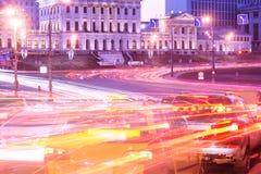 Rush hour. Royalty Free Stock Image