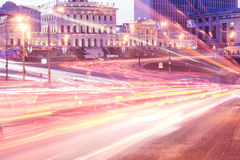 Rush hour. Stock Images