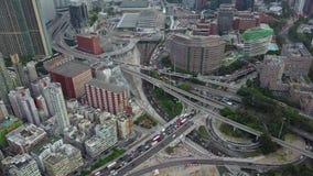 Rush hour at Hong Kong. Rush hour at Kowloon of Hong Kong stock video