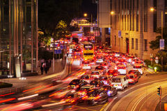 Rush hour in Hong Kong Royalty Free Stock Photo