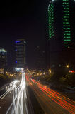 Rush hour lights Royalty Free Stock Photography