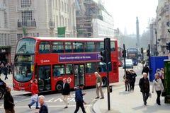 Rush hour in London City Stock Photo