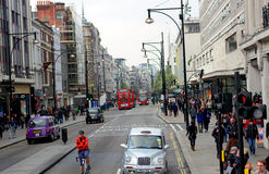 Rush hour in London City Royalty Free Stock Photography