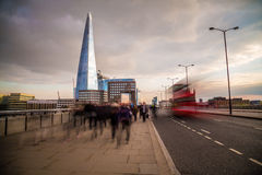 Rush Hour in London Royalty Free Stock Photos