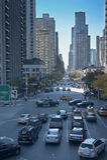 Rush hour New York City Stock Images