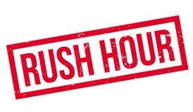 Rush Hour rubber stamp Stock Photo
