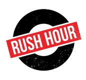 Rush Hour rubber stamp Royalty Free Stock Photos