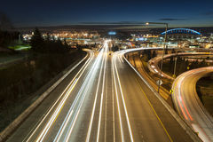 Rush Hour, Seattle Royalty Free Stock Image