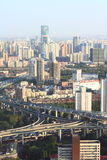 Rush Hour in Shanghai Royalty Free Stock Images