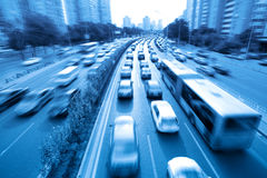 Rush hour traffic. In beijing,China Royalty Free Stock Images