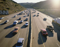 Rush hour traffic Royalty Free Stock Image