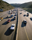 Rush hour traffic Royalty Free Stock Images