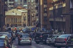Rush hour, traffic jam Royalty Free Stock Photo