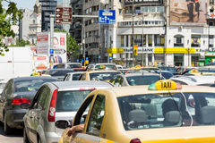 Rush Hour Traffic Jam Royalty Free Stock Image