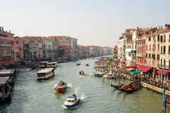 Rush hour traffic in Venice Stock Image