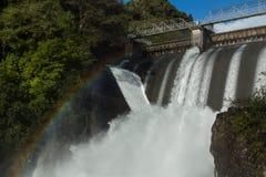Rush Of Hydro Water stock photos