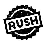 Rush rubber stamp Royalty Free Stock Photo