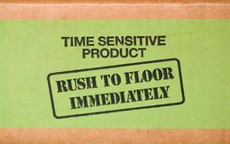 Rush Shipping Royalty Free Stock Photos