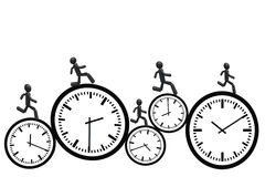 Rush time Royalty Free Stock Photos