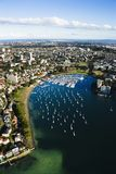 Rushcutters Bay, Australia. stock images