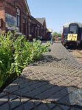 Rushden station royalty free stock images