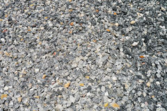 Rushed stones material Stock Photography