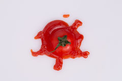 Сrushed tomato Royalty Free Stock Photo