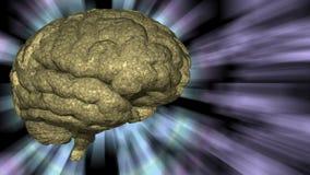 Rushing background brain Royalty Free Stock Image