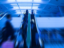 Rushing commuter Stock Photography