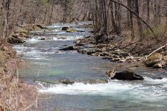 Rushing creek Royalty Free Stock Photos