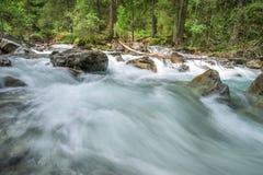 Rushing mountain river Royalty Free Stock Image
