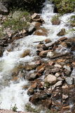 Rushing River. Mountain River in Summer Royalty Free Stock Photos
