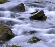 Rushing River. The energetic flow of a small river Stock Photography