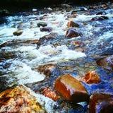 Rushing Rivers Stock Image