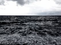 Rushing sea Royalty Free Stock Image