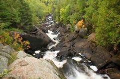 Rushing stream in Minnesota Royalty Free Stock Image